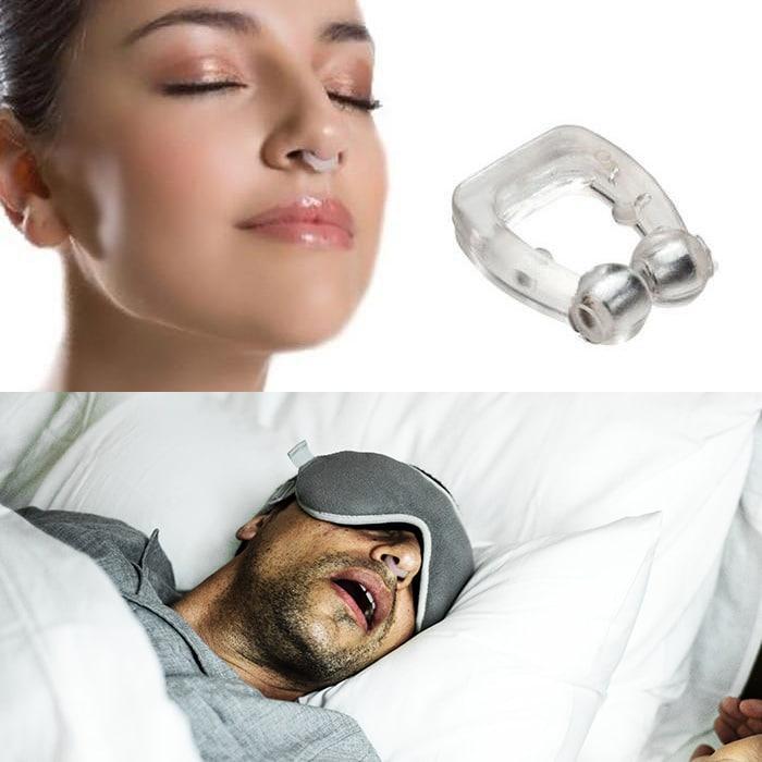 Snorkefri næseclip (undgå søvnløse nætter!)