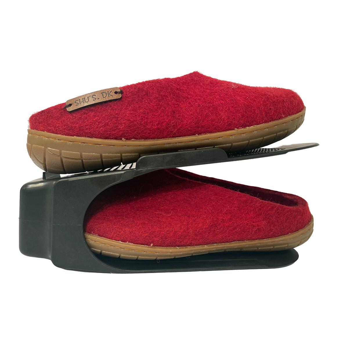 Pladsbesparende sko organizer (sort)