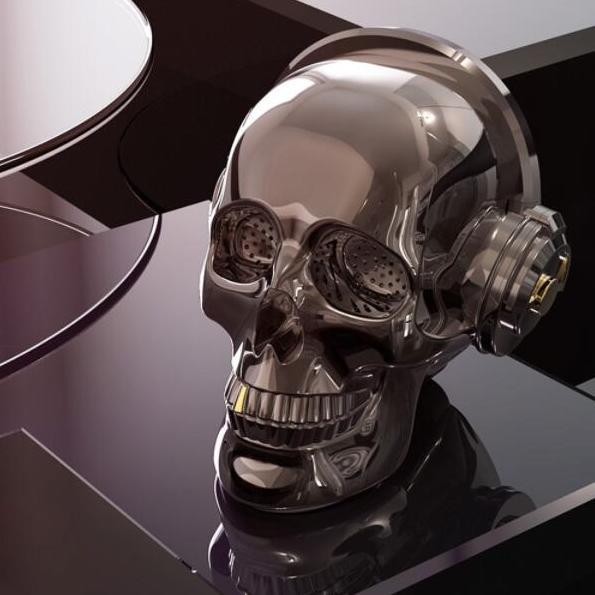 OneDer Skull Bluetooth Højtaler