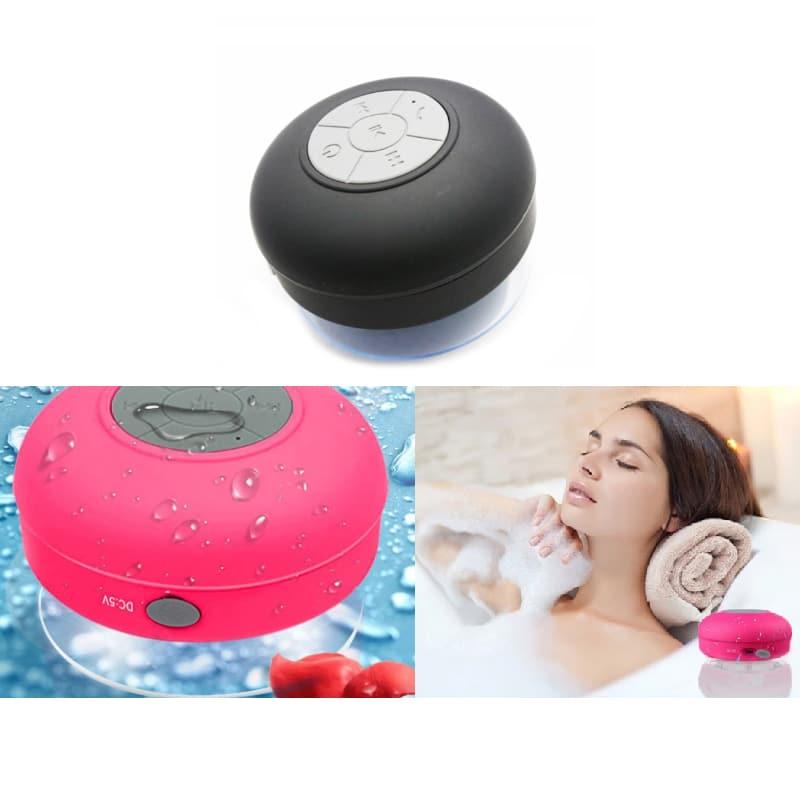 Vandtæt Bluetooth Højtaler med sugekop til badet m.v.