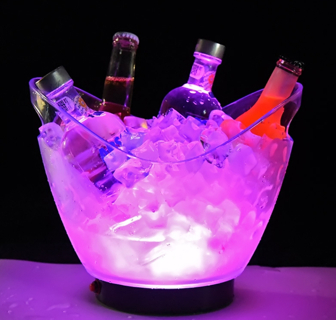 Vinkøler med LED-lys
