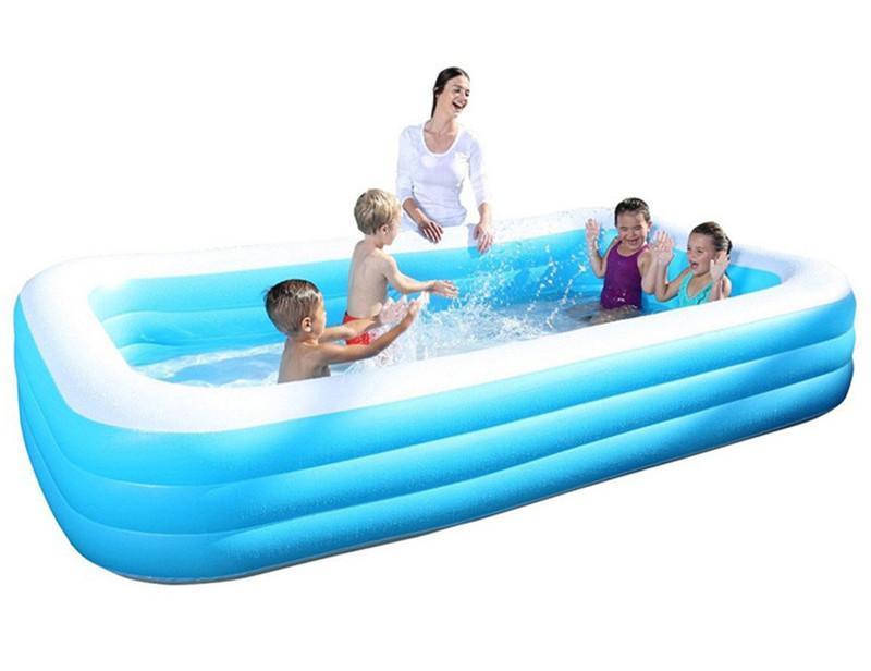 Oppustelig Rektangulær Pool Bestway® 1161L - 305 x 183 x 56 cm