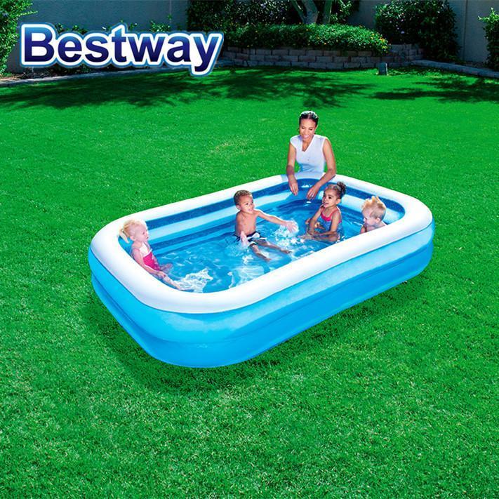 Oppustelig Rektangulær Pool Bestway® 778 L