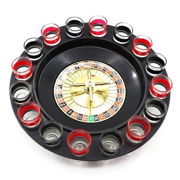 Roulette drukspil – lad hjulet bestemme din skæbne