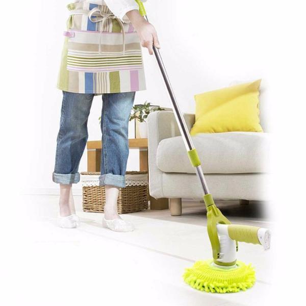 Alt-i-en håndholdt smart moppe/rengøringsbørste (elektrisk)