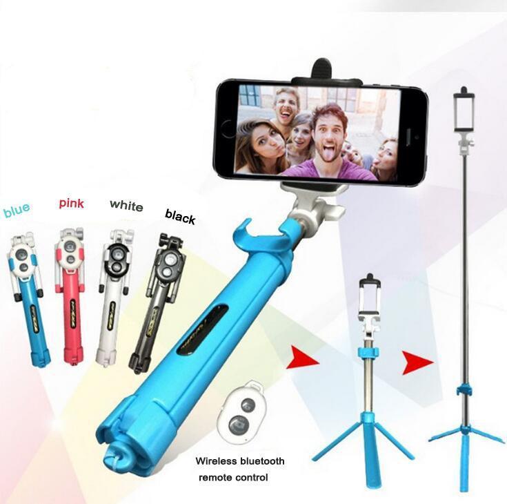Selfie Stang med tripod og bluetooth