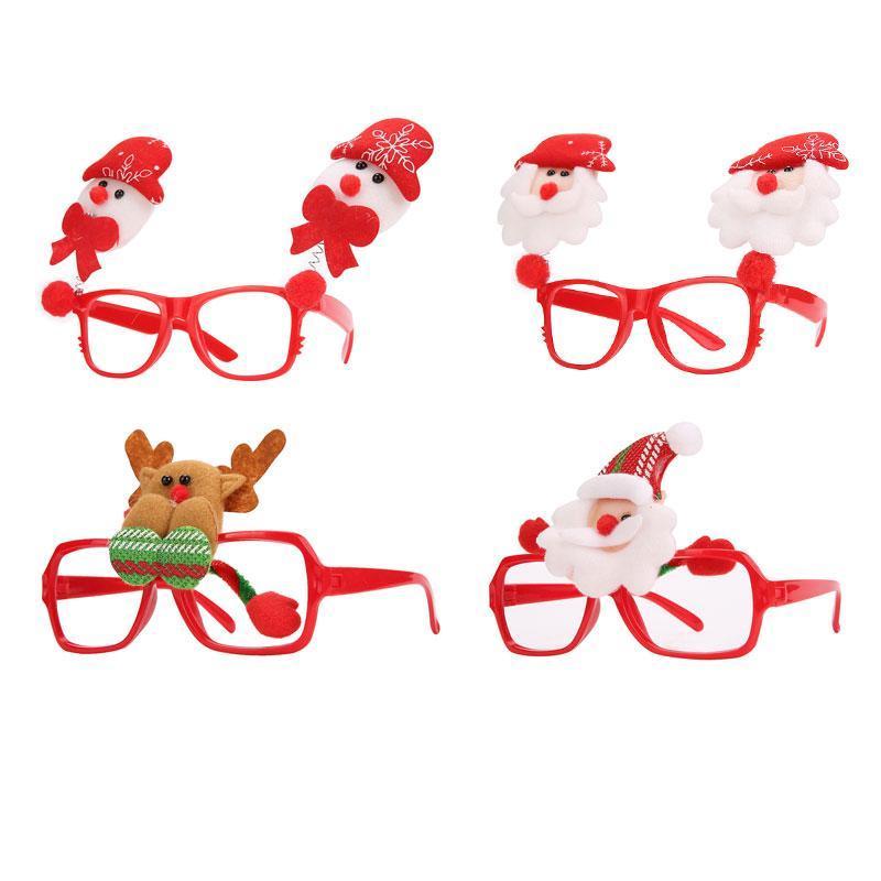 Sjove julebriller (4 forskellige slags)