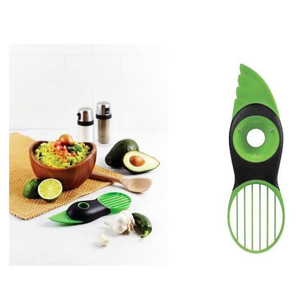 Avocado Skærer 3-i-1 (skalkniv, udkerner og deler)