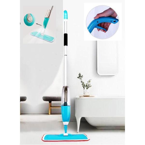 Mikrofiber spray moppe med integreret vandtank